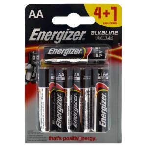 Μπαταρία Αλκαλική Energizer LR03 size AA 1.5V Τεμ. 4+1 7638900414974