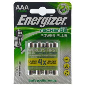 Μπαταρία Επαναφορτιζόμενη Energizer ACCU Recharge Power Plus 700 mAh size AAA 1.2V Τεμ. 4 7638900417005