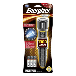Φακός Energizer Vision HD Focus 1300 Lumens με 6 ΑΑ Μπαταρίες και Μεταλλικό Σώμα 7638900419597