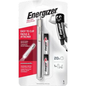 Φακός Energizer Pen Light 35 Lumens με 2 ΑAΑ Μπαταρίες και Μεταλλικό Σώμα σε μέγεθος Στυλό 7638900420821