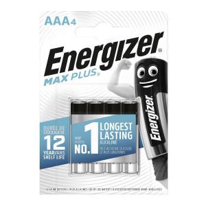 Μπαταρία Αλκαλική Energizer Max Plus LR03 size AAA 1.5V Τεμ. 4 7638900423051