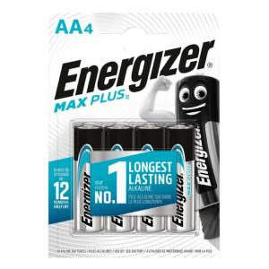 Μπαταρία Αλκαλική Energizer Max Plus LR6 size AA 1.5V Τεμ. 4 7638900423211