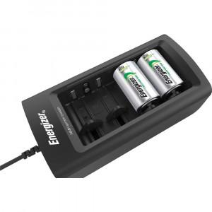 Φορτιστής Μπαταριών Energizer ACCU Recharge Universal για AA/AAA/C/D/9V με Ενδείξεις Φόρτισης 7638900423716