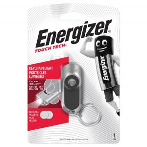 Φακός Μπρελόκ Αλουμινίου Energizer Touch Tech Ασημί 20 Lumens με Αισθητήρα Αφής Ενεργοποίησης 7638900424225