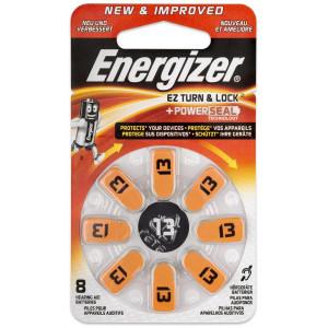 Μπαταρίες Ακουστικών Βαρηκοΐας Energizer EZ Turn & Lock 13 1.4V Τεμ. 8 7638900425727
