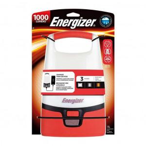 Φακός Energizer LED Camping Lantern 1000 Lumens IPX4 με Λειτουργία PoweBank και έξοδο USB για Φόρτιση Κινητών Συσκευών και Περιμετρική Φωτεινότητα 7638900426458