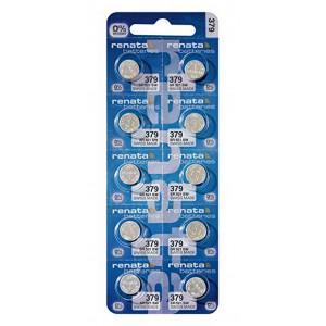 Buttoncell Renata 379 SR521SW Τεμ. 10 785618327830