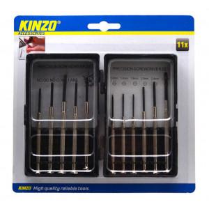 Tool Set Kinzo Mini 11 Pieces with Case 8711252794754