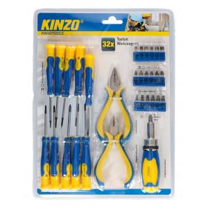 Tool Set Kinzo 93529 32 Pcs 2029499 8711252935294