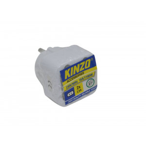 Power Adapter Kinzo Suco 2x2.5A with Protection (2x2.5A - 230V-50Hz-2200W) 8711252998114