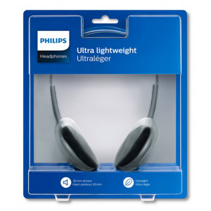 Philips Stereo Headphone SBCHL140 3.5 mm White - Black for mp3, mp4 and Sound Devices 8712581497873