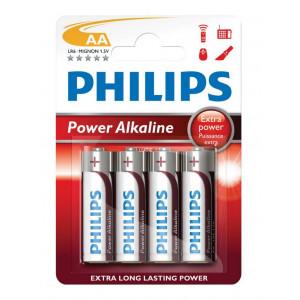 Μπαταρία Αλκαλική Philips PowerLife LR6 size AA 1.5 V Τεμ. 4 8712581549909