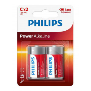 Μπαταρία Power Alkaline Philips LR14 size C 1.5 V Τεμ. 2 8712581549985