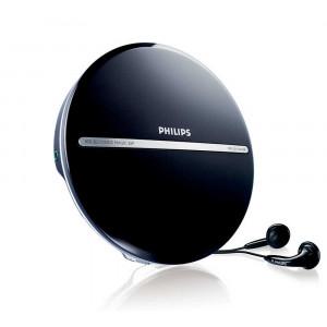 Φορητό MP3-CD Player Philips EXP2546/12 Μαύρο με Ακουστικά 8712581589585
