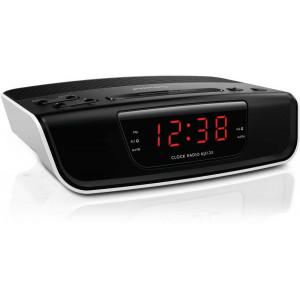Ραδιόφωνο - Ξυπνητήρι Philips AJ3123 Μαύρο - Λευκό 8712581639396