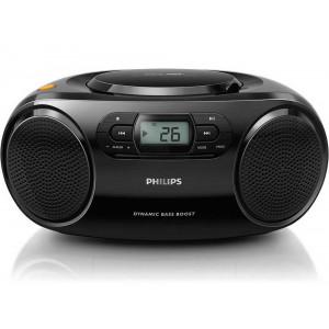 Φορητό Ράδιο MP3-CD Philips AZ320/12 Μαύρο με Θύρα USB 8712581660215