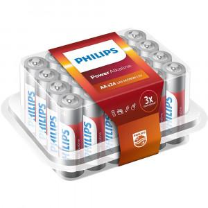 Μπαταρία Αλκαλική Philips Power Alkaline LR6 size AA 1.5 V Τεμ. 24 8712581693077