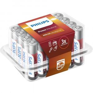 Μπαταρία Αλκαλική Philips Power Alkaline LR03 size AAA 1.5 V Τεμ. 24 8712581693084