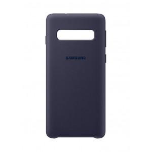 Θήκη Faceplate Samsung Silicone Cover EF-PG973TNEGWW για SM-G973 Galaxy S10 Navy 8801643640132