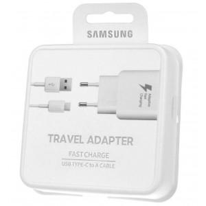 Φορτιστής Ταξιδίου Samsung EP-TA300CWEGWW με Αποσπώμενο Καλώδιο USB-C 2.1 mAh 25W Fast Charger 8806088353494