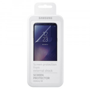 Screen Protector Samsung ET-FG950CTEGWW για SM-G950F Galaxy S8 Curved Full Face (2 Τεμάχια) 8806088694146