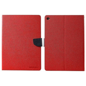 Book Case Goospery Fancy Diary for Apple iPad Pro 9.7 Red - Navy by Mercury 8806174347291