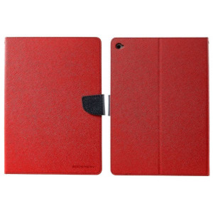 Book Case Goospery Fancy Diary for Apple iPad 9.7 Red - Navy by Mercury 8806174393885