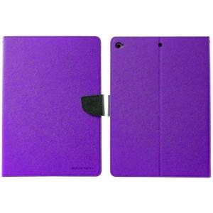 Book Case Goospery Fancy Diary for Apple iPad 9.7 Purple - Navy by Mercury 8806174393946
