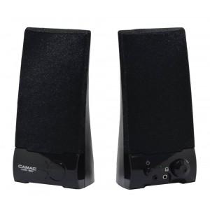 Ηχείο Stereo Camac CMK-160 2Wx2 RMS Μαύρο με Τροφοδοσία USB 19x8.5x9mm 8809067300090
