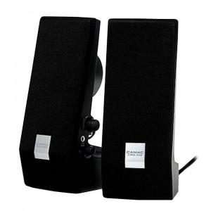 Speaker Stereo Camac CMK-858 1Wx2 RMS Black with USB 70x74x180mm 8809067301356