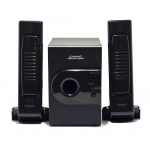 Speaker Stereo Camac CMK-808N/L 2.1 750W 5W+1Wx2 RMS Black with EU plug 23x5.5x4mm 8809067301363