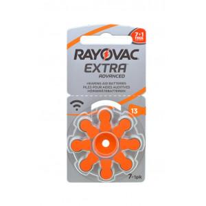 Μπαταρίες Ακουστικών Βαρηκοΐας Rayovac 13 Extra Advanced 1.45V Τεμ. 8 96181218