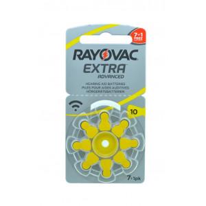Μπαταρίες Ακουστικών Βαρηκοΐας Rayovac 10 Extra Advanced 1.45V Τεμ. 8 96181232