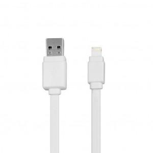 Καλώδιο φόρτισης Gigastone GC-3900WH Lightning σε USB One Side 2.4A 1μ. Συμβατό με Όλες τις Αναβαθμίσεις Λευκό 4716814079250