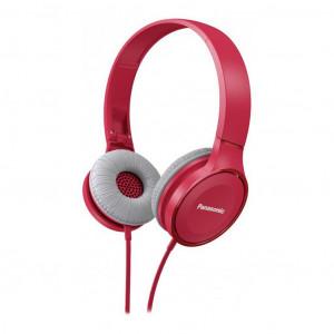 Ακουστικά Stereo Panasonic RP-HF100E-P με δυνατότητα Αναδίπλωσης και Μηχανισμό Περιστροφής Ροζ 5025232851010