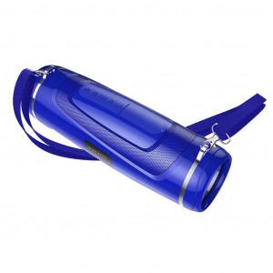 Φορητό Ηχείο Wireless με Φακό Borofone BR7 Empyreal Μπλε V5.0 TWS 1200mAh, 2x5W, IPX5, Μικρόφωνο, FM, USB & AUX θύρα και TF Card 6931474723987