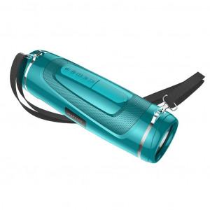 Φορητό Ηχείο Wireless με Φακό Borofone BR7 Empyreal Βεραμάν V5.0 TWS 1200mAh, 2x5W, IPX5, Μικρόφωνο, FM, USB & AUX θύρα και TF Card 6931474724007
