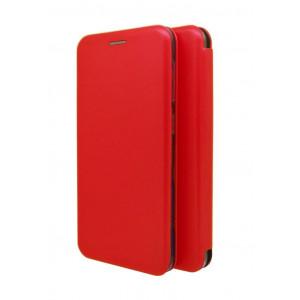 Θήκη Book Ancus Magnetic Curve για Samsung SM-A405F Galaxy A40 TPU Κόκκινη 5210029068621