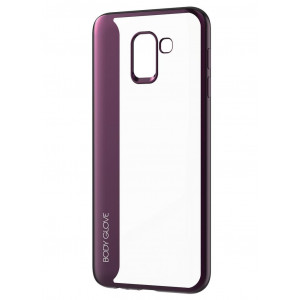 Θήκη Ultra Thin Body Glove Spirit Case για Samsung SM-J600 Galaxy J6 (2018) Διάφανη - Μωβ 6008076051548