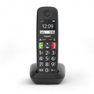 Ασύρματο Ψηφιακό Τηλέφωνο Gigaset E290  Μαύρο 4250366856261