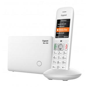 Ασύρματο Ψηφιακό Τηλέφωνο Gigaset E370 Λευκό 4250366850849