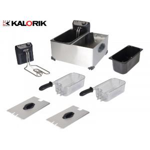 KALORIK FT-1005 ΔΙΠΛΗ ΦΡΙΤΕΖΑ 2x3L, 2x2200W