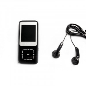 OSIO SRM-8380B MP4 / MP3 PLAYER ΜΑΥΡΟ 8GB
