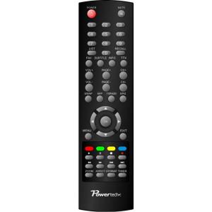 POWERTECH χειριστηριο συμβατο με δεκτη PT-MPEG4-HD2