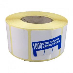Θερμικό ρολό με διάσταση 40 x 25 / 1000 αυτοκόλλητα , διάσταση οπής 40mm