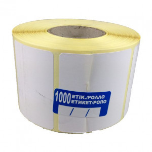 Θερμικό ρολό με διάσταση 60 x 40 / 1000 αυτοκόλλητα , διάσταση οπής 40mm