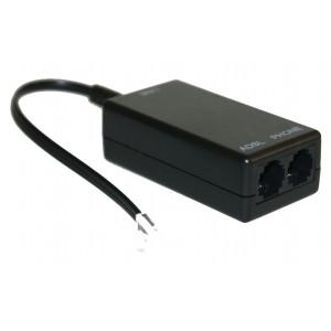 Power Tech ADSL splitter με φίλτρο για adsl2+ modem router & τηλέφωνο PSTN
