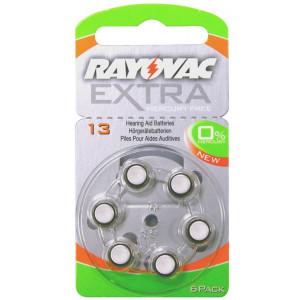 Rayovac extra mercury free μπαταριες ακουστικων βαρηκοϊας 1,45V.