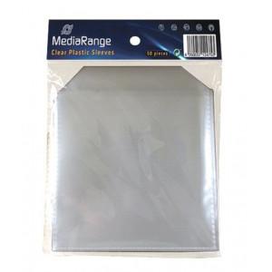 MediaRange PP CD πλαστικη θηκη με καπακι - 50 τεμ.