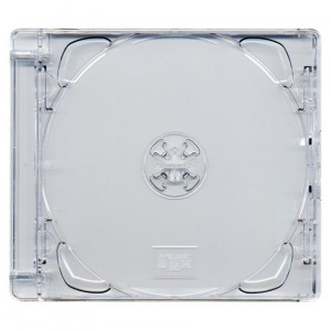 10.4 mm CD jewelcase με CLEAR - 100TEM